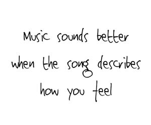 music, psychology, and quotes image