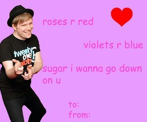 fall out boy, patrick stump, and funny image