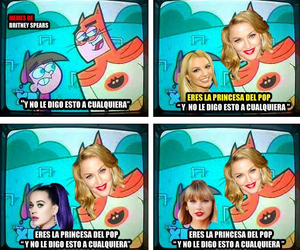 britney spears, katy perry, and madonna image