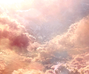 aesthetic, cloud, and pink image