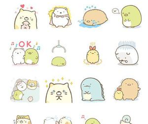 kawaii, stickers, and cute image