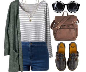 bag, black shoes, and necklace image