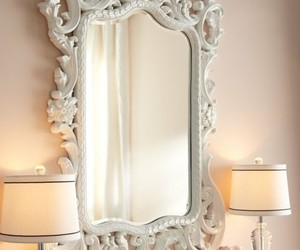 mirror and white image
