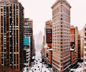 travel, city, and snow image