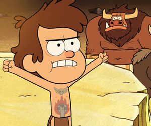 Tattoos, dipper, and gravityfalls image