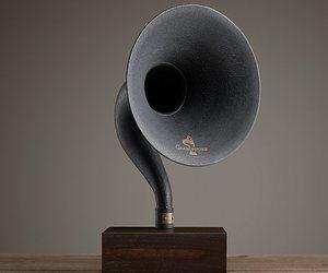 gramophone and music image