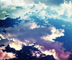 clouds, sky, and attack on titan image