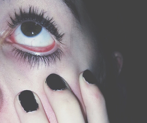 grunge, black, and eye image