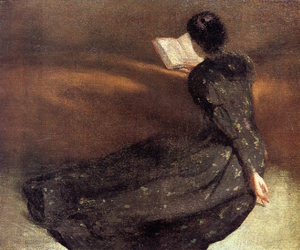 John White Alexander, oil, and painting image