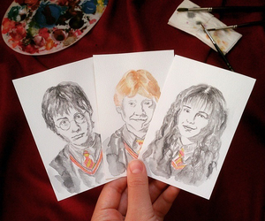 art, by, and harrypotter image