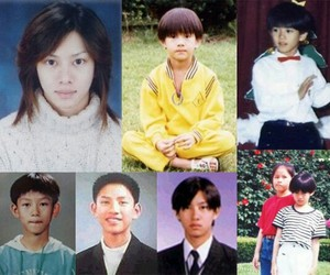 baby, heechul, and pre debut image