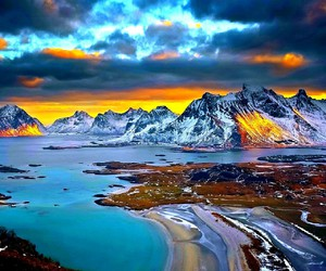 beautiful, scenery, and lovly image