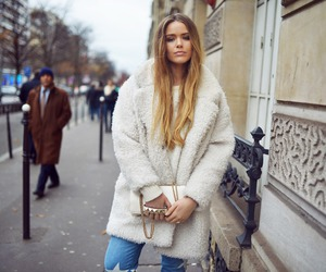 coat, kristina bazan, and fashion image