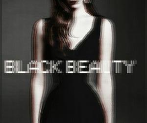 lana del rey, black beauty, and black image