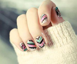 heart, nail, and nails image