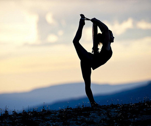 freedom, yoga, and fitness image