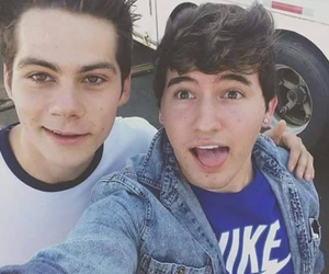 jc caylen, dylan o'brien, and teen wolf image