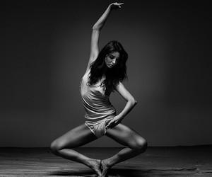 dance, dancer, and woman image