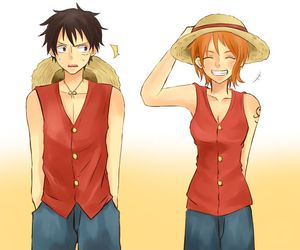 one piece, luffy, and love image