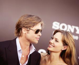 brad pitt, Angelina Jolie, and Brangelina image