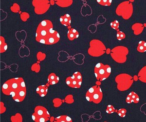 background, minnie, and pattern image