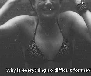 difficult, Shailene Woodley, and life image