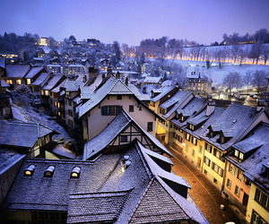 cold, switzerland, and travel image