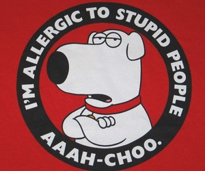 family guy and brain griffin image
