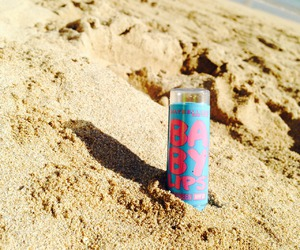 beach, baby lips, and beauty image