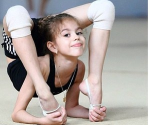 ballerina, ballet, and rhythmic gymnastics image