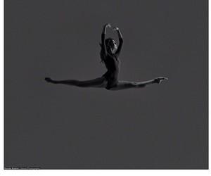 ballerina, rhythmic gymnastics, and ballet image