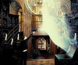 harry potter, expecto patronum, and gif image