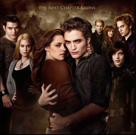 twilight, cullen, and new moon image