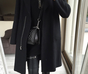 bag, chanel, and leather image