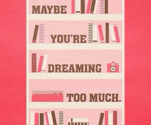 Dream, books, and dreaming image