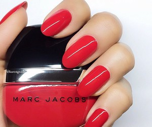 nails, luxury, and marc jacobs image