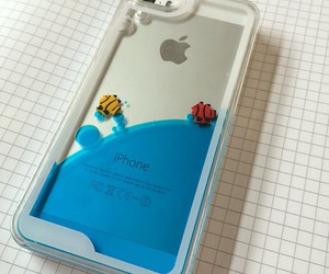 blue, iphone case, and cute image