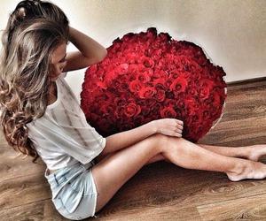 flowers, hair, and anna paciu image