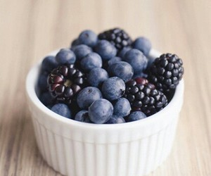 fruit, berries, and blueberry image