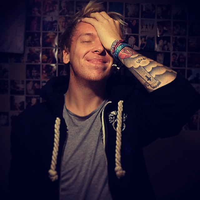 smile, cute guy, and Tattoos image