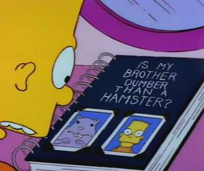 bart, lisa simpson, and the simpsons image