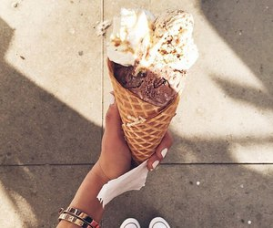 food and ice cream image