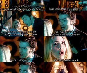 doctor, rose, and doctor who image