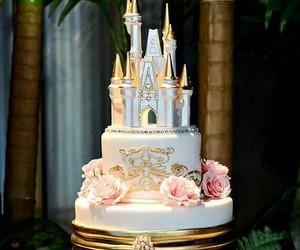 wedding, wedding cake, and fairytale wedding image