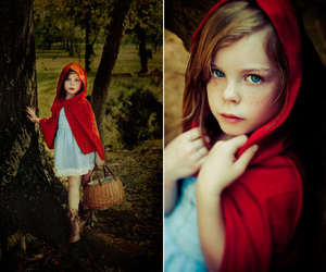 child and red image