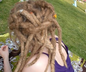 dread, dreads, and girl image