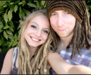 couple, dread, and hippie image