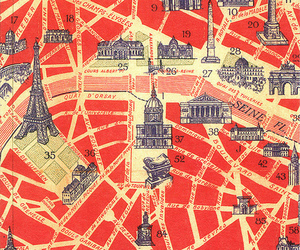 france, typography, and paris image