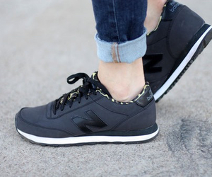 new balance, sneakers, and grey image