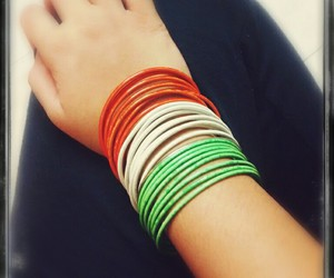 bangles, beautiful, and india image